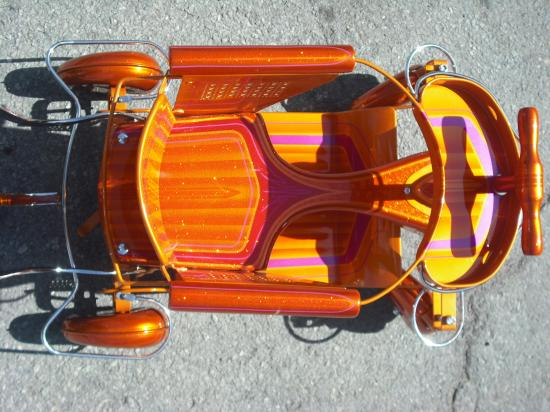 Calblast custom paint body for Custom paint and body